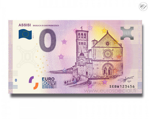 Italia 0 € 2019 Assisi - Basilica di San Francesco UNC