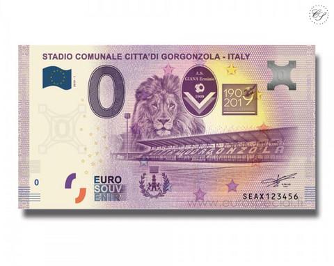Italia 0 € 2019 Stadio Citta'di Gorgonzola UNC