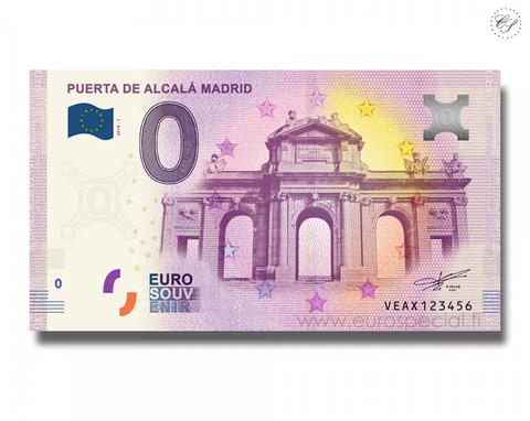 Espanja 0 € 2020 Madrid - Puerta de Alcalá UNC