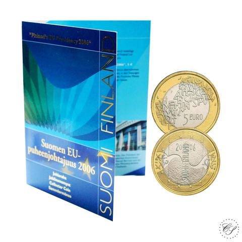 Suomi 5 € 2006 EU-puheenjohtajuus BU