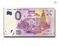 Suomi 0 € 2020 Turku-Åbo nollaseteli