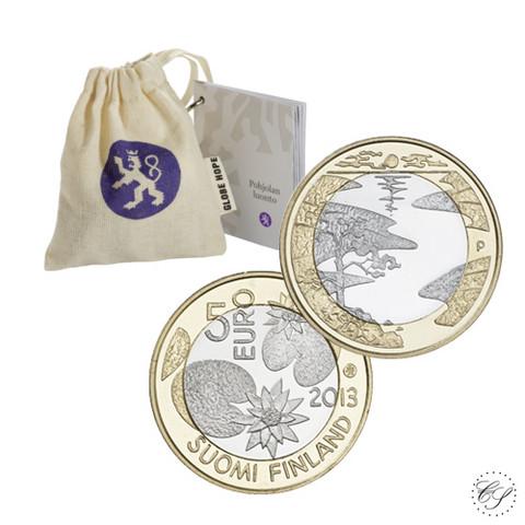 Suomi 5 € 2013 Pohjolan luonto, Kesä, Proof