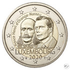 Luxemburg 2 € 2020 Prinssi Henry 200 vuotta