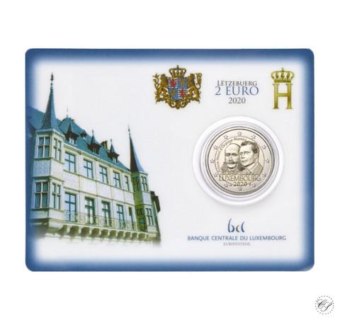 Luxemburg 2 € 2020 Prinssi Henry 200 v. BU coincard