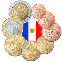 Ranska 1s - 2 € 2003 UNC/BU