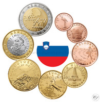 Slovenia 1s - 2 € 2012 BU