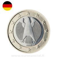 Saksa 1 € 2020 Kotka BU