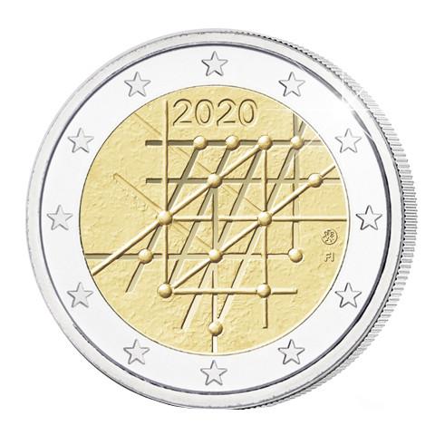 Suomi 2 € 2020 Turun yliopisto 100 vuotta