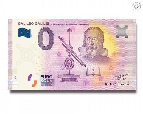 Italia 0 € 2020 Galileo Galilei UNC