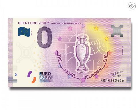 Saksa 0 € 2020 UEFA Coupe Delaunay UNC