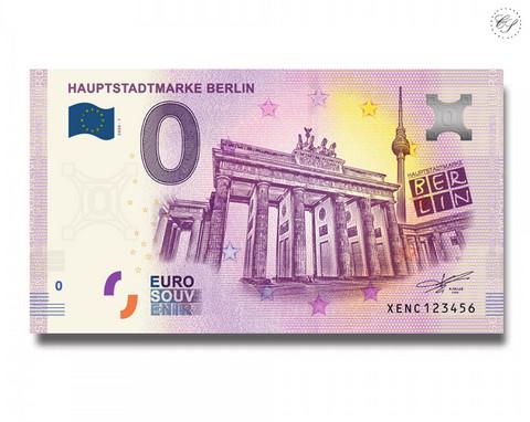 Saksa 0 € 2020 Pääkaupunki Berliini UNC