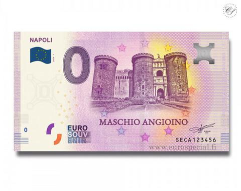 Italia 0 € 2020 Napolin kaupunki UNC