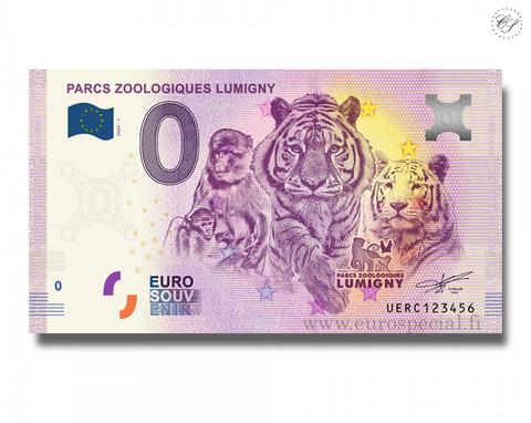 Ranska 0 € 2020 Lumignyn eläintarha UNC