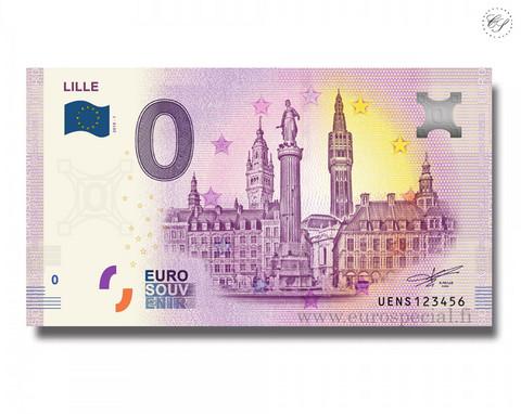 Ranska 0 € 2020 Lillen kaupunki UNC
