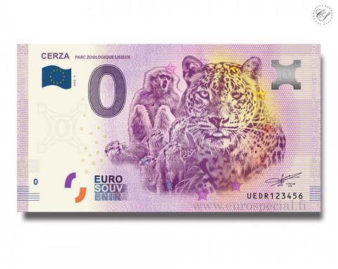 Ranska 0 € 2020 Cerza-eläinseteli VI UNC