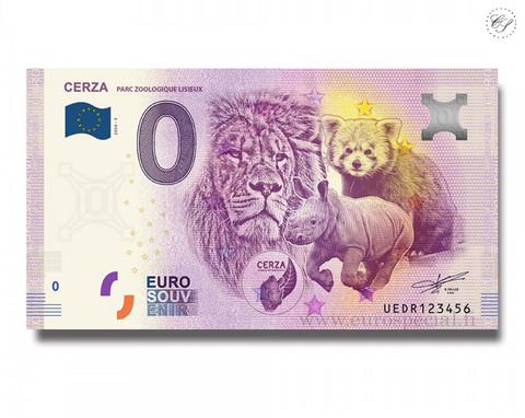 Ranska 0 € 2020 Cerza-eläinseteli V UNC