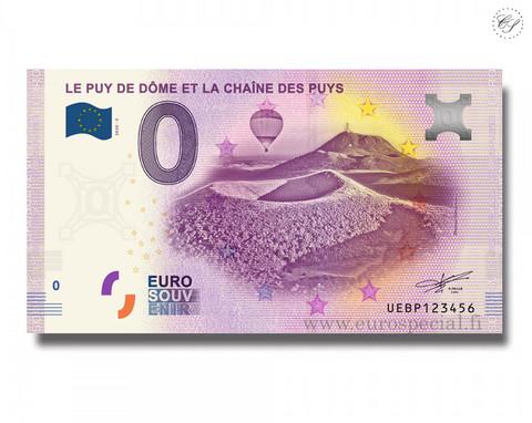 Ranska 0 € 2020 Puy de Dôme UNC