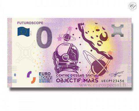 Ranska 0 € 2020 Futuroscope Mars UNC