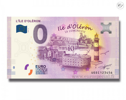 Ranska 0 € 2020 Ile d'Oléron UNC