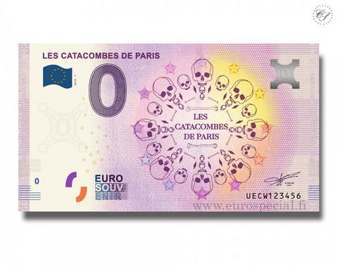 Ranska 0 € 2020 Pariisin katakombit UNC