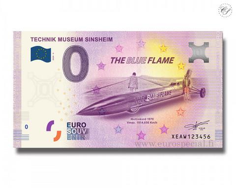 Saksa 0 € 2020 Sinsheimin teknillinen museo UNC