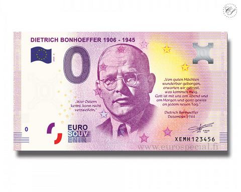Saksa 0 € 2020 Dietrich Bonhoeffer UNC