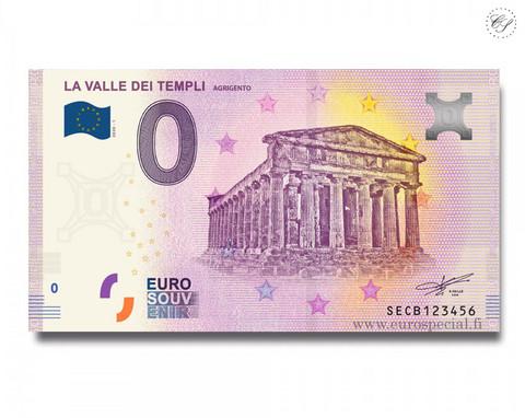 Italia 0 € 2020 Temppelien laakso UNC