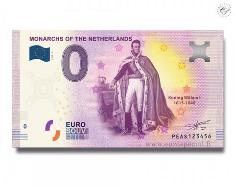 Alankomaat 0 € 2020 Monarkit - Willem I UNC