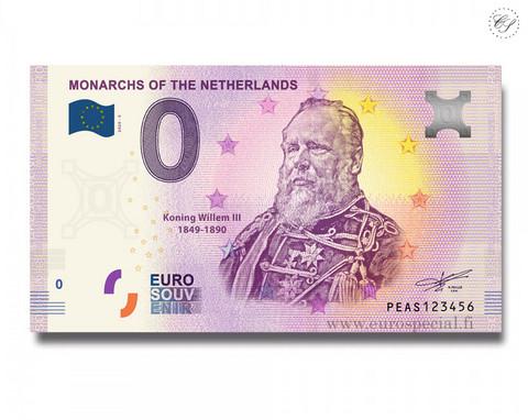 Alankomaat 0 € 2020 Monarkit - Willem III UNC
