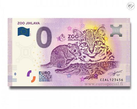 Tsekki 0 € 2020 Jihlavan eläintarha UNC