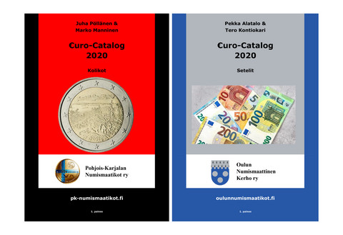 Eurokatalog 2020 PK-Numismaatikot, 1. painos