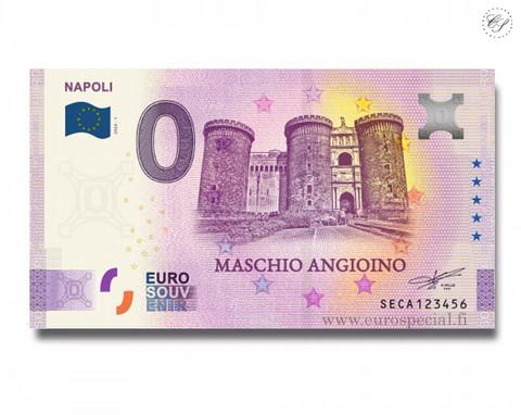 Italia 0 € 2020 Napolin kaupunki -juhlavuosiversio UNC