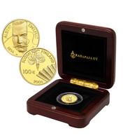 Suomi 100 € 2004 Albert Edelfelt & maalaustaide kultaraha