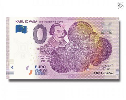 Suomi 0 € 2020 Kuninkaat - Kaarle IX UNC