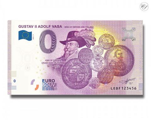 Suomi 0 € 2020 Kuninkaat - Kustaa II Aadolf UNC