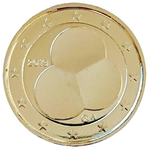 Suomi 2 € 2019 Suomen Hallitusmuoto 1919, kullattu