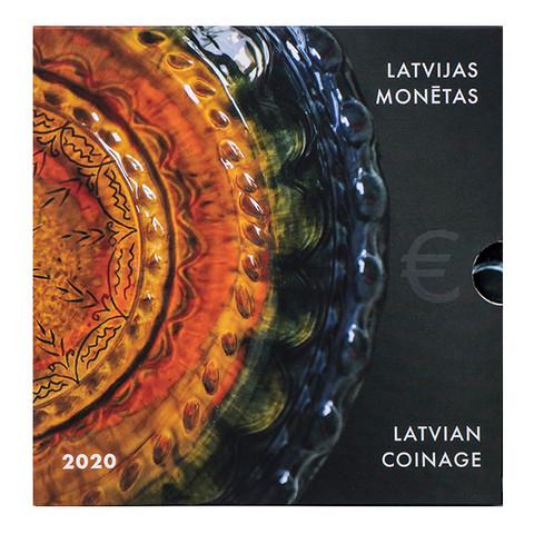 Latvia 2020 BU rahasarja Latgalen keramiikka