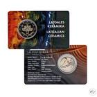 Latvia 2 € 2020 Latgalen keramiikka BU coincard
