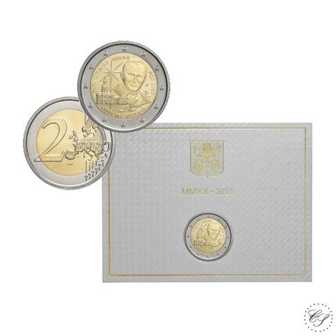 Vatikaani 2 € 2020 Paavi Johannes Paavali II BU