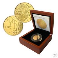Suomi 100 € 2010 Suomalainen raha 150 vuotta kultaraha
