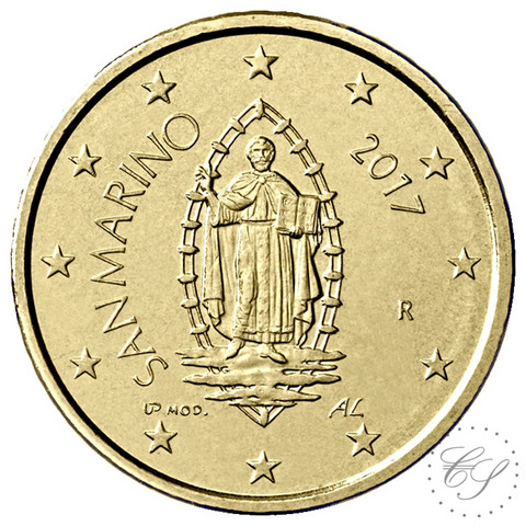San Marino 50s 2020 The Portrait of San Marino UNC