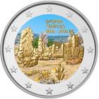 Malta 2 € 2020 Ta' Skorban temppelit, väritetty (#2)