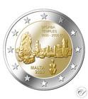 Malta 2 € 2020 Ta' Skorban temppelit F-merkinnällä BU