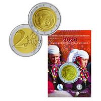 Kreikka 2 € 2020 Traakia 100 vuotta osana Kreikkaa, BU coincard