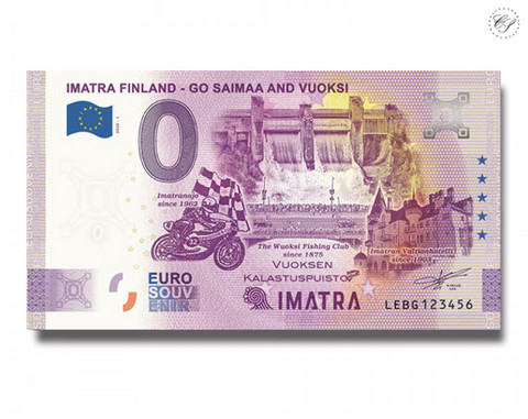 Suomi 0 € 2020 Imatra (Go Saimaa & Vuoksi) Special Edition