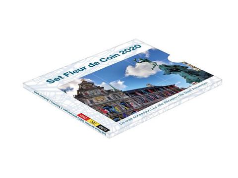 Belgia 2020 BU 8,88 € rahasarja Antwerpenin kaupunki