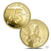 Belgia 2,5 € 2020 Rauha & vapaus 75 vuotta Euroopassa BU