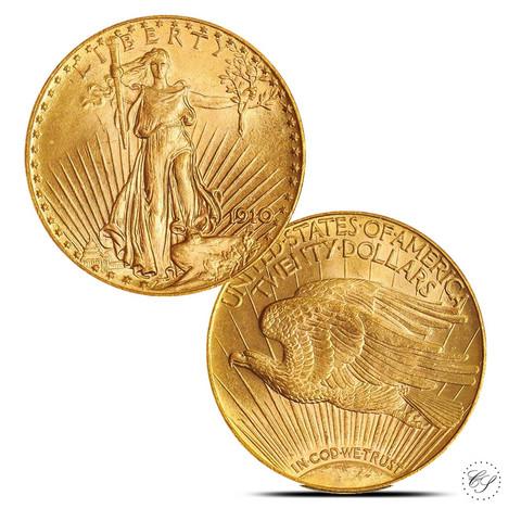 USA 1910 Saint-Gaudens KULTA Double Eagle