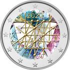 Suomi 2 € 2020 Turun yliopisto 100 v., väritetty (#1)