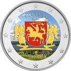 Liettua 2 € 2020 Aukštaitija, väritetty (#1)
